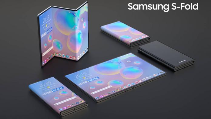Afisaj Samsung S Foldable pentru viitoarele smartphone pliabile