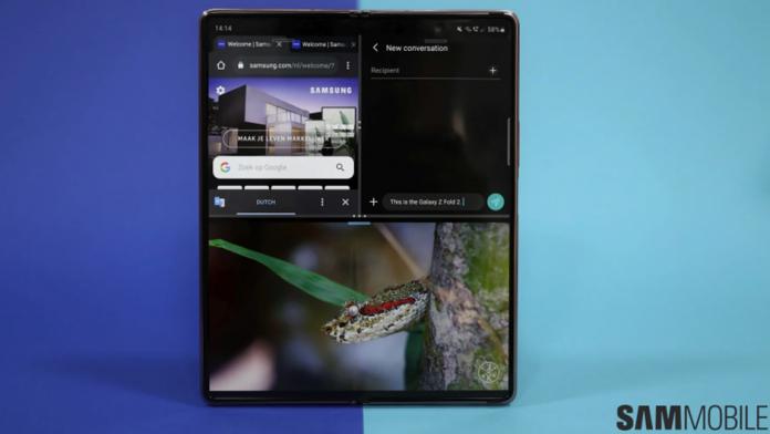 Dimensiunea afisajelor lui Samsung Galaxy Z Fold 3 au aparut