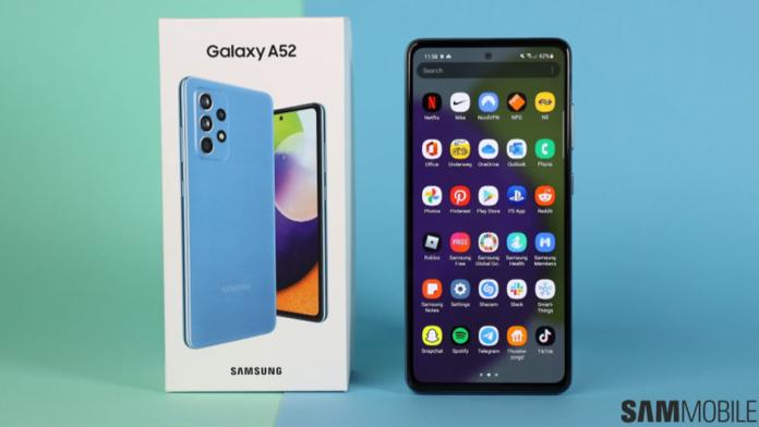 Galaxy A52 5G primeste patch de securitate din aprilie 2021