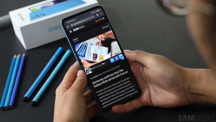 Galaxy A52 primeste cea mai recenta actualizare de securitate