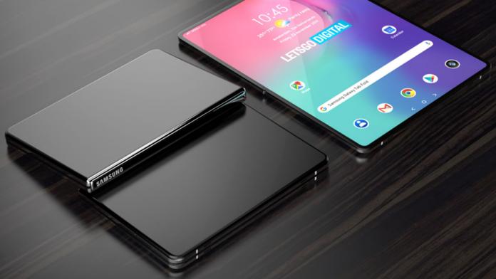 Galaxy Tab Fold brevet Samsung pentru o tableta pliabila