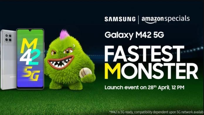 Samsung Galaxy M42 5G un telefon accesibil va fi lansat pe 28 aprilie
