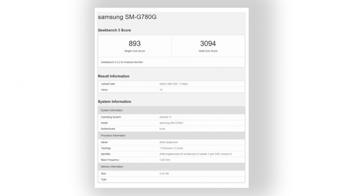 Samsung Galaxy S20 FE 4G primeste si un procesor Snapdragon 865