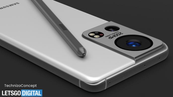 Samsung Galaxy S22 Ultra primeste camera foto de la Olympus