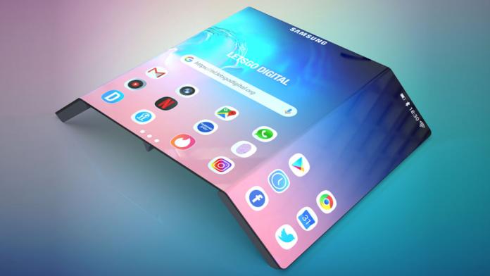Samsung Galaxy Z Fold Trifold cu stilou S Pen magnetic