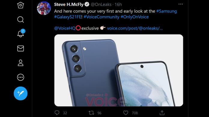 Samsung S21 FE un telefon Galaxy mai ieftin este in lucru