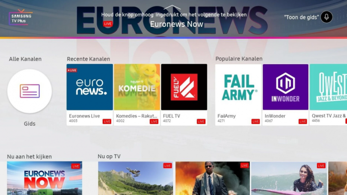 Samsung TV Plus primeste 166 de canale TV Rakuten in Europa
