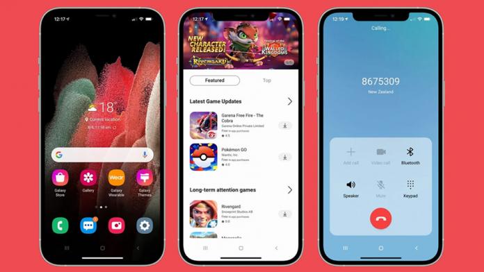 Samsung iTest aplicatie pentru utilizatorii iPhone pentru a incerca One UI
