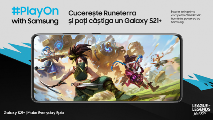 Samsung lansează competiția de League of Legends Wild Drift dedicată pasionaților de mobile gaming