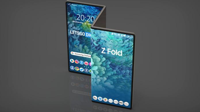 Tableta Samsung Galaxy Z Fold confirmata de cererea de marca in Europa