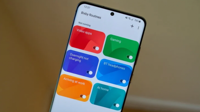 Bixby Routine un nou mod avansat pe Samsung Good Lock