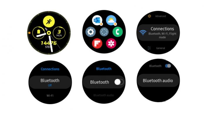 Cum sa conectați castile sau castile Bluetooth la Galaxy Watch 3