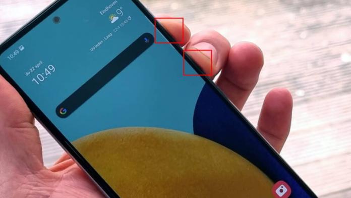 Cum sa faceti capturi de ecran cu Samsung Galaxy A52