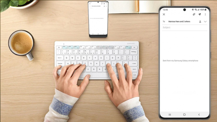 Cum sa imperecheati Smart Keyboard Trio 500 cu telefonul Galaxy