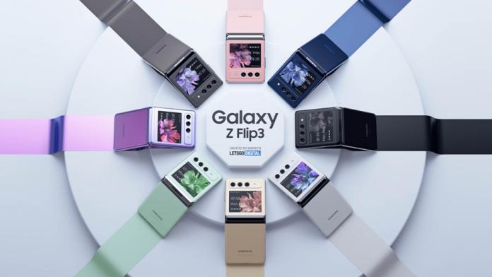 Galaxy Z Flip 3 va fi disponibil in 8 culori