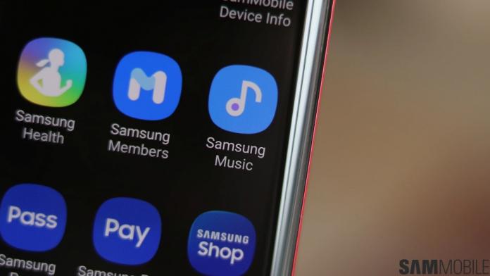 Modificari estetice la cea mai recenta actualizare Samsung Music