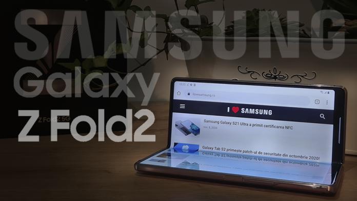 Samsung Galaxy Z Fold 2 – Pret Pareri si Specificatii