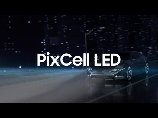 Samsung PixCell LED: lumină inteligentă pentru o conducere mai sigură