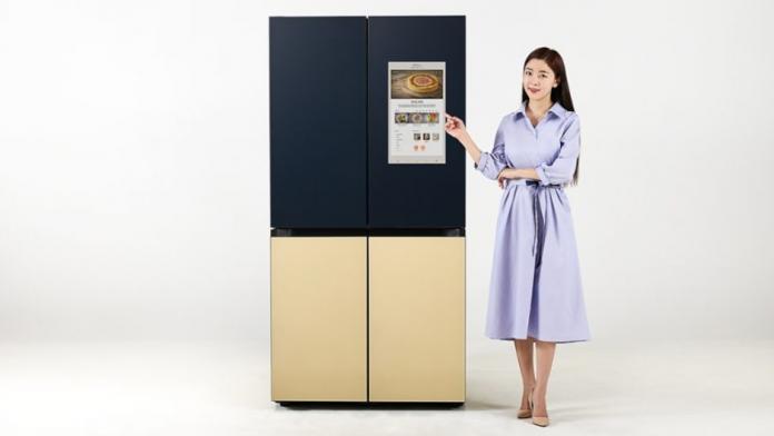Samsung a lansat noul frigider Bespoke Refrigerator Family Hub