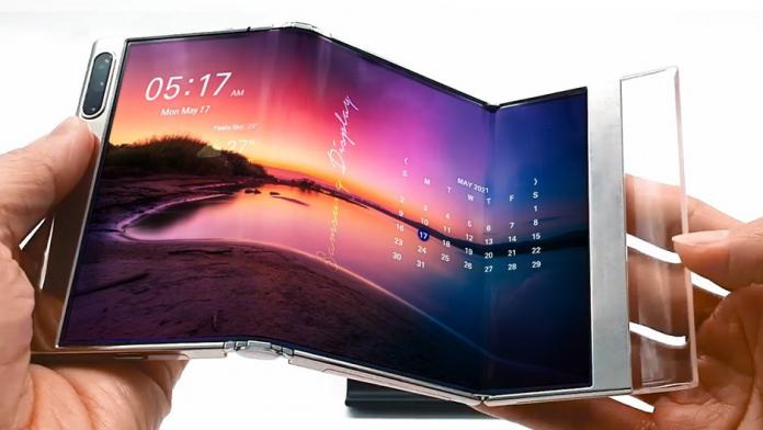 Samsung va prezenta un afisaj S foldable la SID Display Week 2021