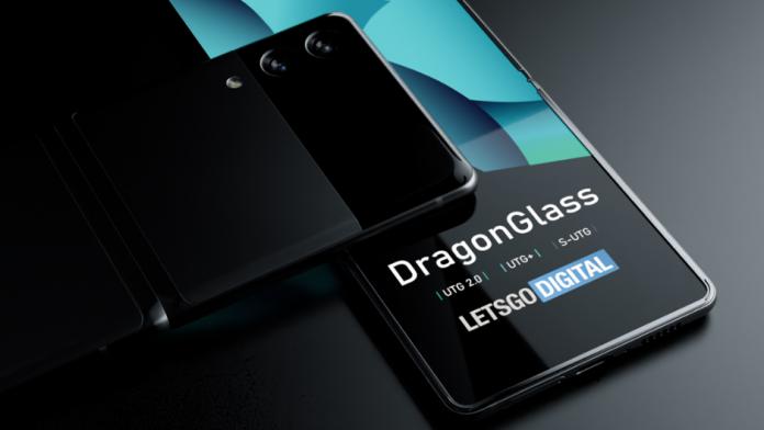 Viitoarele telefoane pliabile Samsung cu sticla UTG si DragonGlass