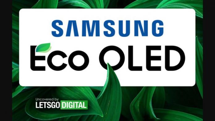 Afisaj OLED Samsung Eco pentru smartphone si televizoare Galaxy