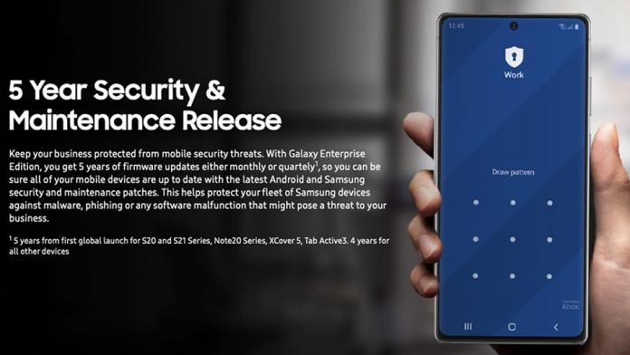 Cinci ani de actualizari de securitate pe unele smartphone Galaxy