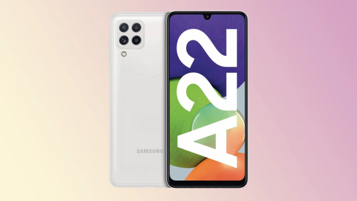 Galaxy A22 4G si 5G anuntate oficial ecran AMOLED de 90Hz