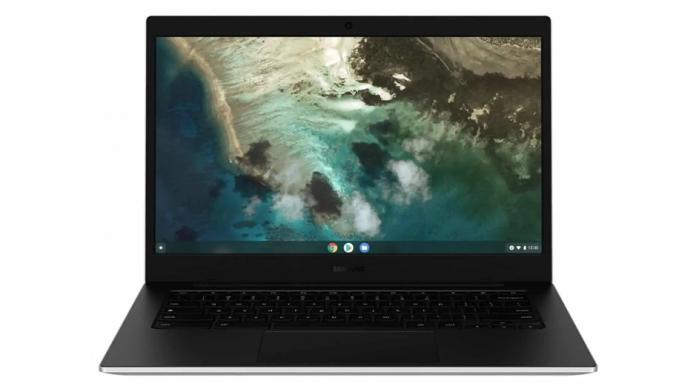 Galaxy Chromebook Go cu procesor Intel Celeron si conectivitate LTE