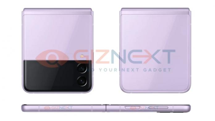Galaxy Z Flip 3 apare in noi fotografii culori superbe