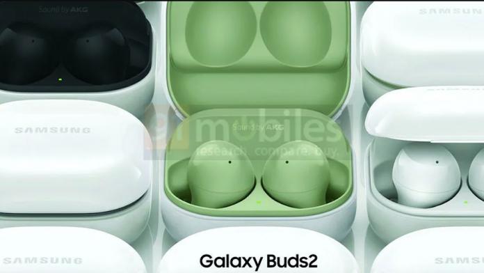 Imagini oficiale cu designul si culorile castilor Samsung Galaxy Buds 2