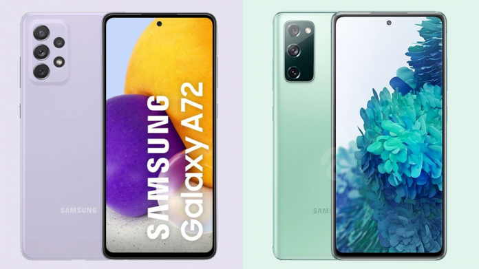 Samsung Galaxy A72 vs Galaxy S20 FE Care sunt diferentele
