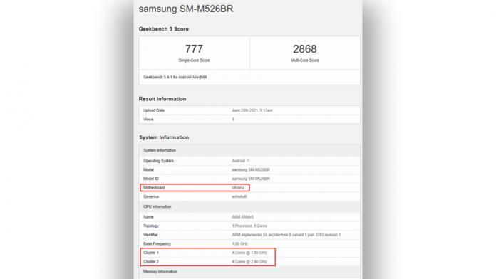 Samsung Galaxy M52 5G cu Snapdragon 778G va ajunge in Europa