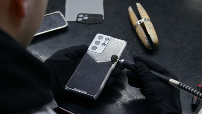 Samsung Galaxy S21 Ultra Limited Edition realizata de Caviar