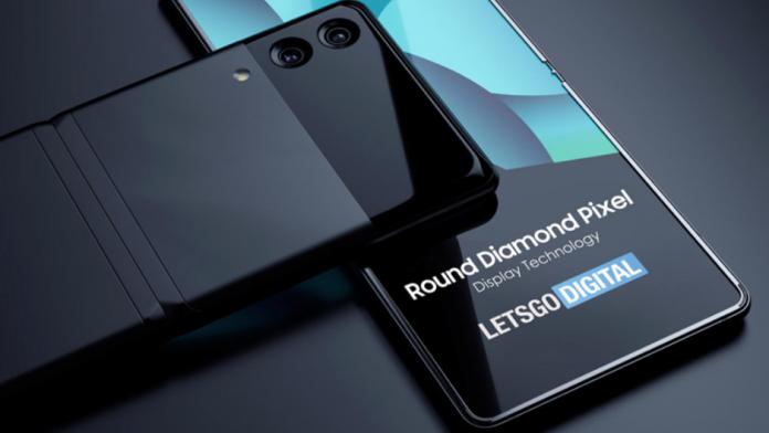 Samsung Galaxy Z Fold si Galaxy Z Flip cu ecran Round Diamond Pixel