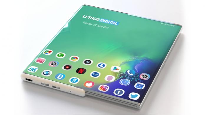 Samsung Galaxy Z Slide si Z Roll cu o camera foto indisplay