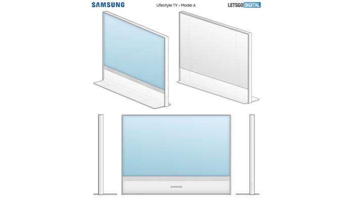 Samsung a brevetat doua noi modele pentru televizoarele Lifestyle