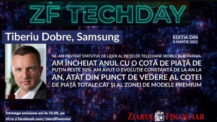 Samsung lider de piata in Romania are peste 50 la suta din cota de piata