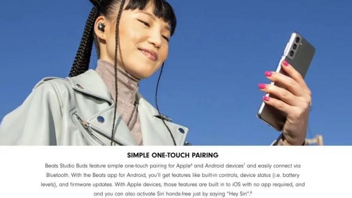 Apple foloseste un telefon Samsung pentru reclama la noile casti Beats