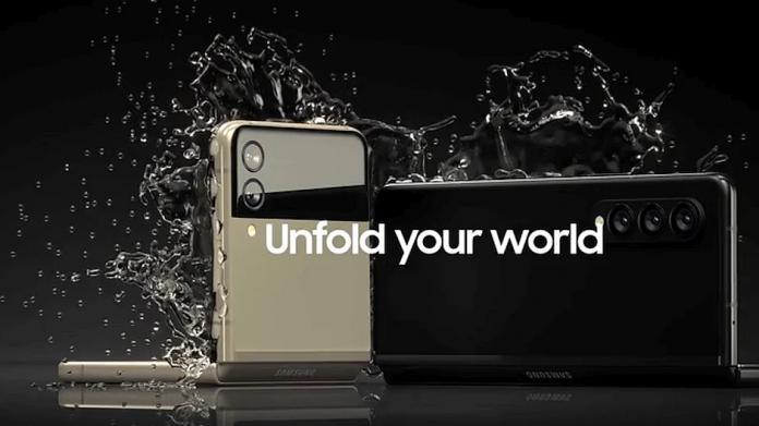 Confirmat Galaxy Z Fold 3 și Z Flip 3 vor fi rezistente la apă