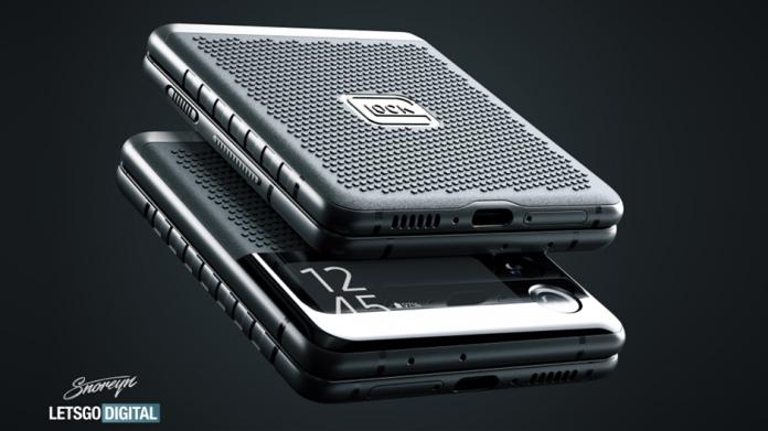Husa Glock antiglont pentru Samsung Galaxy Z Flip 3