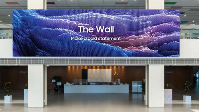 Noul Samsung The Wall este o minune de televizor MicroLED de 1000 inch