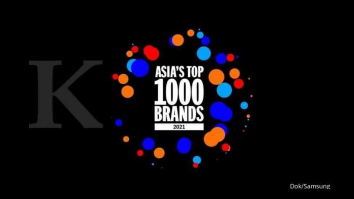 Samsung Electronics este marca de top din Asia pentru al zecelea an consecutiv