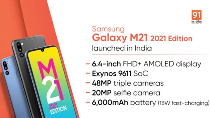 Samsung Galaxy M21 2021 Edition a fost lansat in India