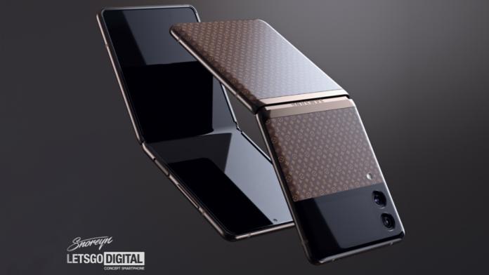 Samsung Galaxy Z Flip 3 Louis Vuitton Editie limitata