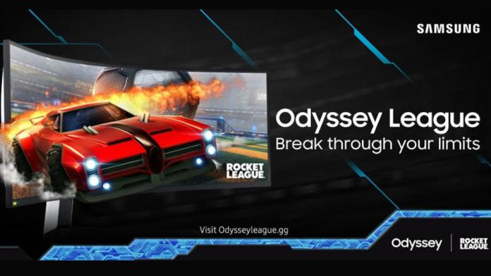 Samsung Odyssey League cu Rocket League