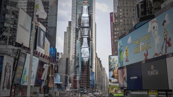 Samsung Smart LED Signage aduce o cascada digitala in Times Square
