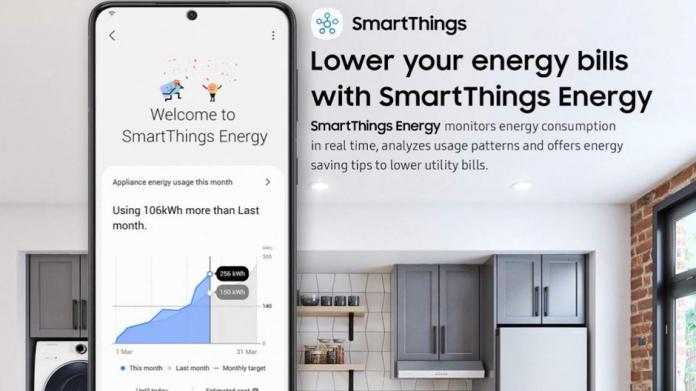 Samsung SmartThings Energy va poate monitoriza consumul de energie