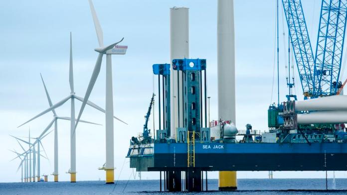 Samsung intra pe piata eoliana pentru centrale offshore