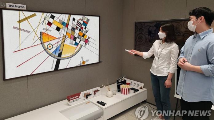 Televizoarele Samsung promoveaza tot mai mult lucrarile de arta